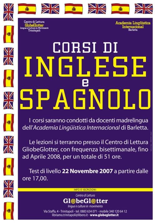 Corsi di Inglese e Spagnolo - Centro di lettura GlobeGlotter