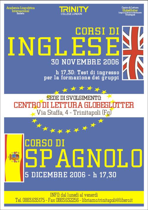 corsi inglese-spagnolo